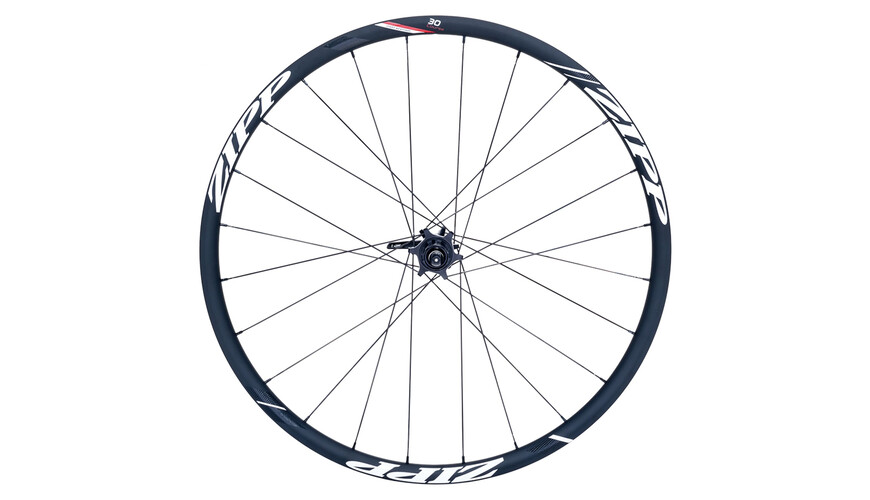 Zipp 30 Course Disc Clincher HR 24 Loch black/white stickers